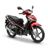 HondaWave125iRed